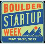 Proud sponsors of Boulder Startup Week 2012